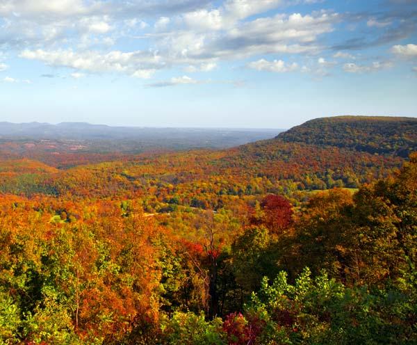 Fall Colors in the Ozarks Arkansas