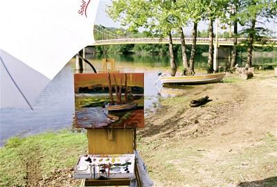 """A """"Plein Air"""" painting"""