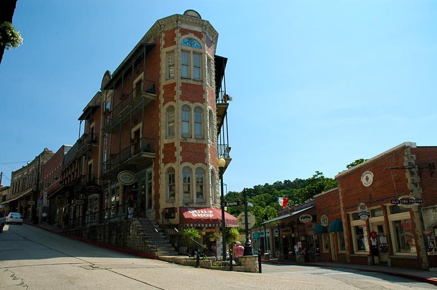 Downtown Eureka Springs Walking Tour