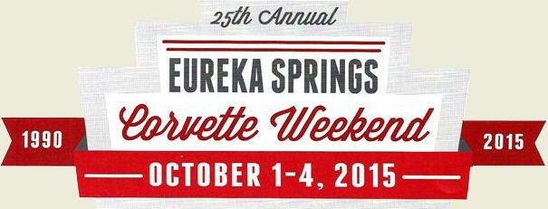 Eureka Springs Corvette Weekend 2015