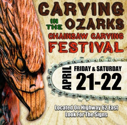Carving In The Ozarks 2017 - The Eureka Springs Chainsaw Carving Festival