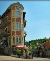 Downtown Eureka Springs Arkansas