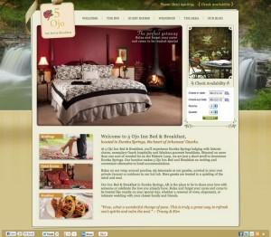Screenshot of new 5 Ojo Website
