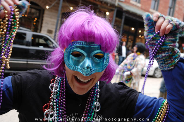 Get in on all the Mardi Gras fun right here in Eureka Springs!