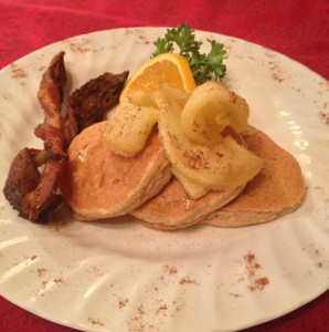 Gluten Free Pancakes at 5 Ojo Inn Bed and Breakfast
