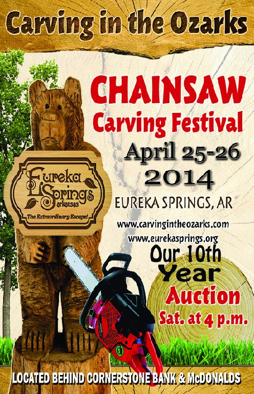 Carving In the Ozarks 2014 - Chainsaw Carving Festival