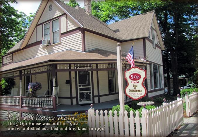 Northwest Arkansas Bed And Breakfast Inn 5 Ojo