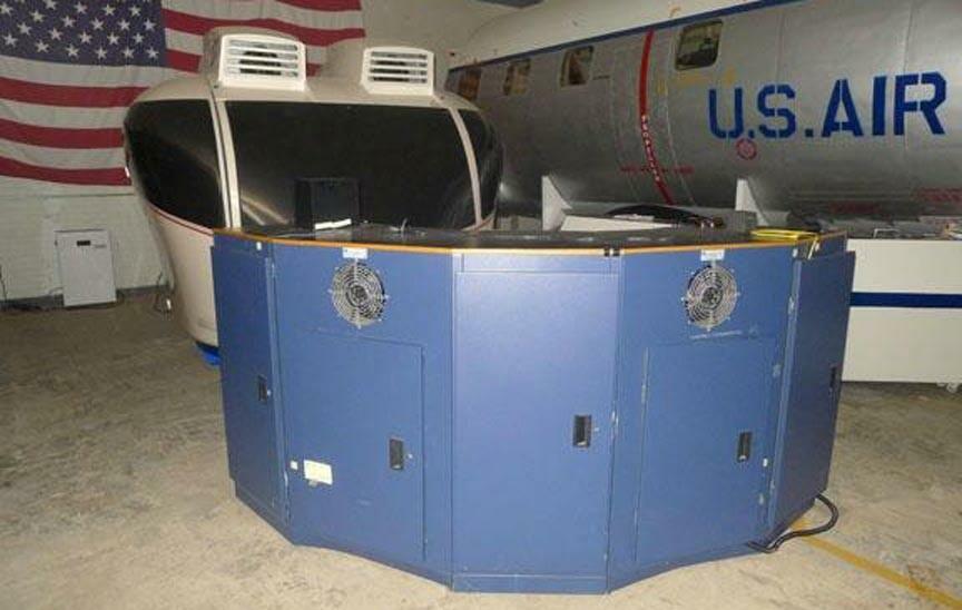 Aviation Cadet Museum Aeroball Simulator